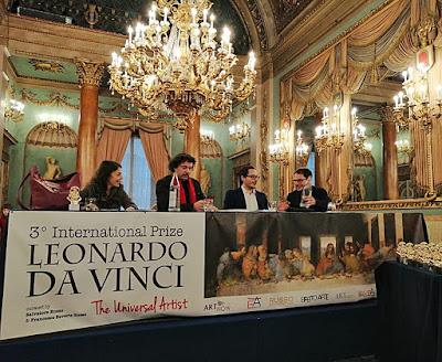 Mesa Presidencial del Premio Internacional Leonardo da Vinci - El Artista universal