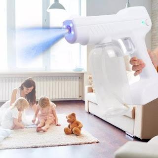 Nano Spray Gun UV Disinfectant YJ-01 Disinfektan Wireless Anti Virus