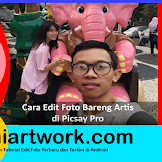 Tutor Picsay Pro | Cara Edit Foto Bareng Artis