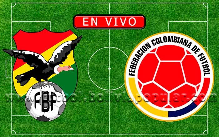 Bolivia vs. Colombia -【En Vivo】Eliminatorias Mundial Qatar 2022