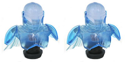 San Diego Comic-Con 2021 Exclusive The Mandalorian Hologram Edition Legends in 3D Star Wars Resin Bust by Diamond Select Toys x Gentle Giant