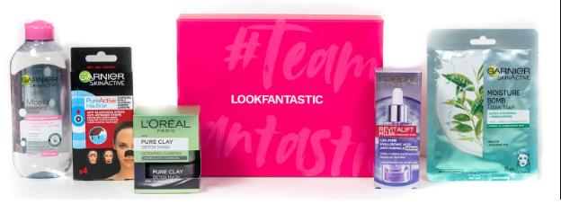 Lookfantastic Hero Regime - Oily Skin Box October 2020