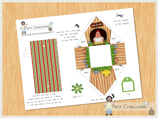 """PRINTABLE GIFT (or treats) box """"Hen house"""" (digital template) - DIY - gift idea for Easter"""