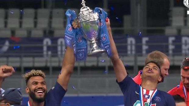 Choupo-Moting et Le PSG remportent la Coupe de France