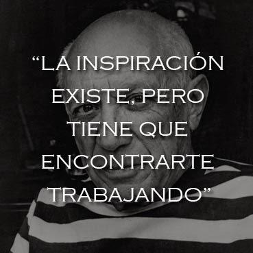 Foto y frase célebre de Pablo Picasso