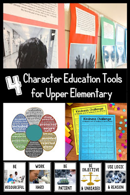 Free activities to promote character education into your grade 4 5 6 lessons and curriculum