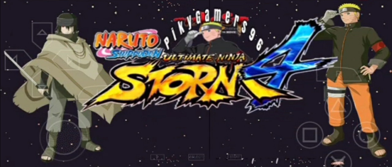 Download Naruto Shipudden Ultimate Ninja Storm 4 Iso/Cso PPSSPP For Android