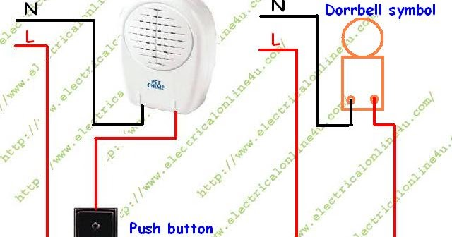 Doorbell Wiring Diagram - How To Wire Or Install Doorbell In Your House