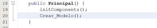 Llamar método en Java