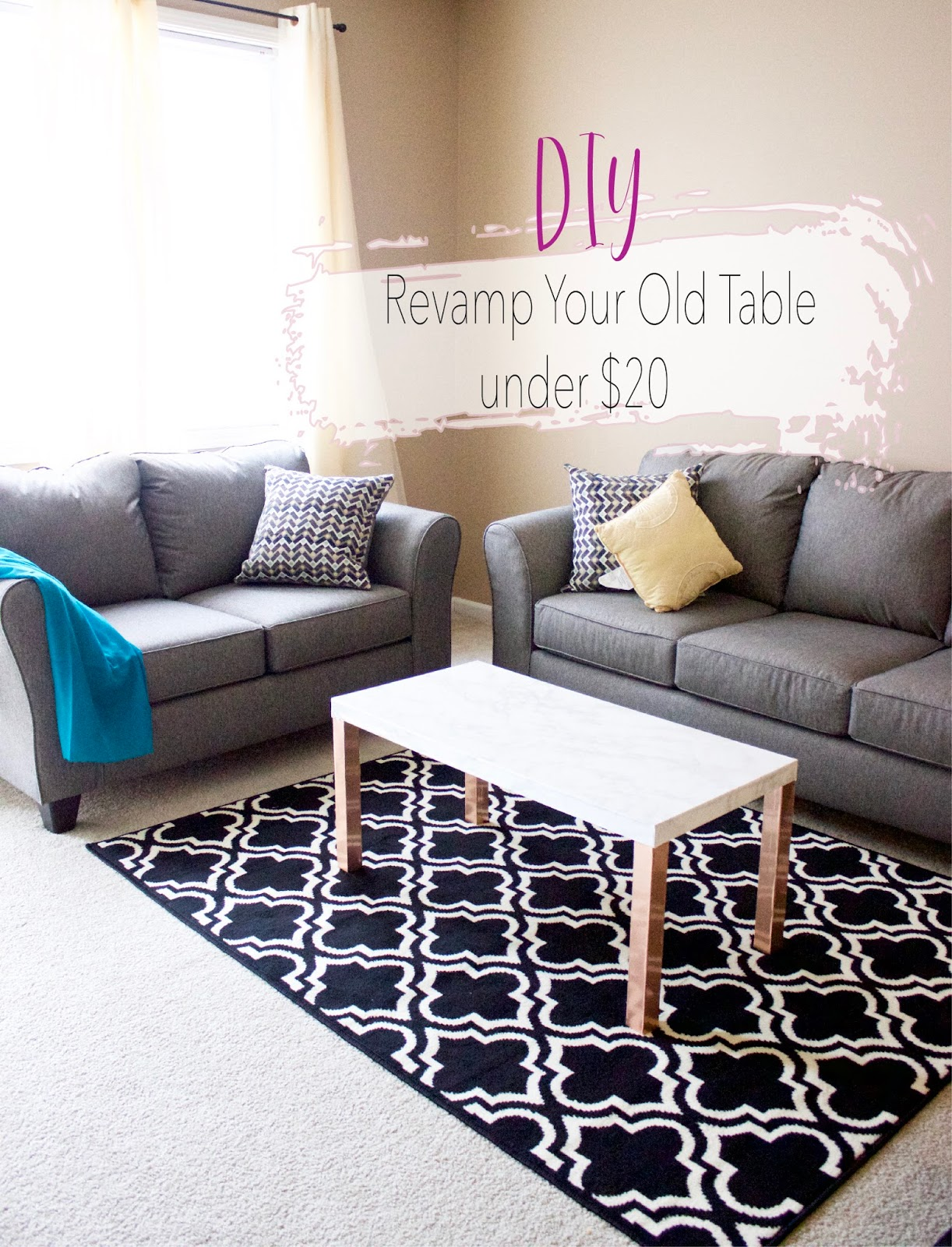 Revamp An Old Table Under $20
