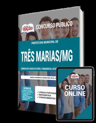 Apostila digital pdf p/ Prefeitura de Três Marias -  MG