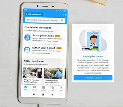 Rawat Jalam Online Harga Transparan ini bisa pilih jadwal sesuka hati kita selama tersedia di jadwal dokternya