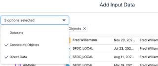 Tableau CRM Direct Salesforce Data