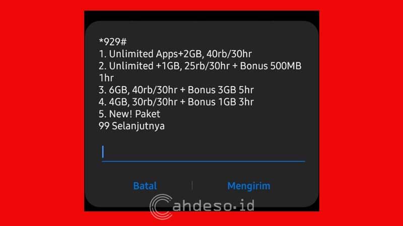 Paket Internet Khusus Indosat