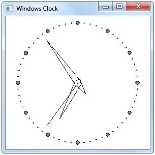 WCB Clock