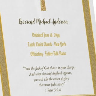 newly ordained priest plaque text
