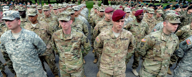U.S. Army soldiers in warsaw