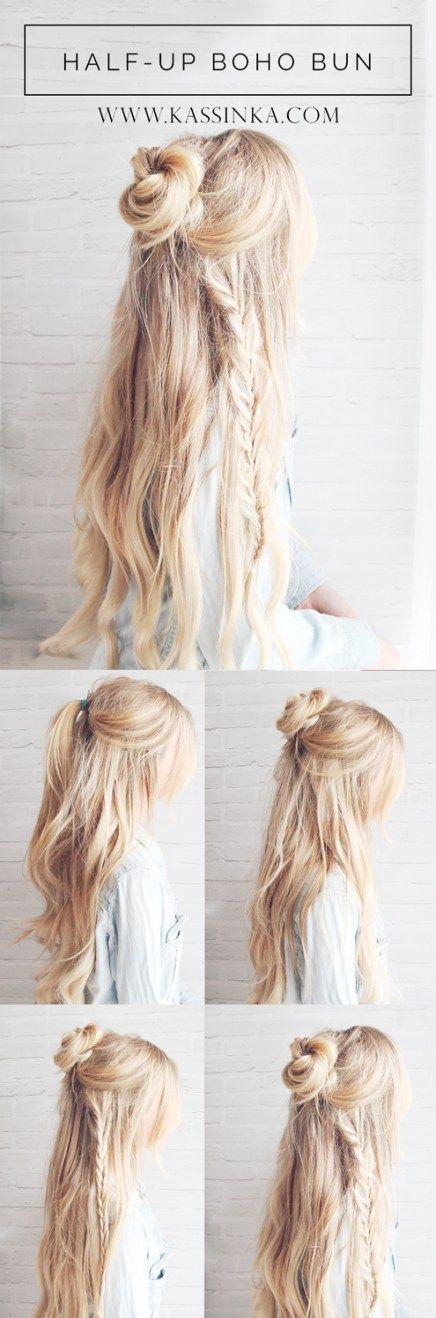 boho hairstyle idea