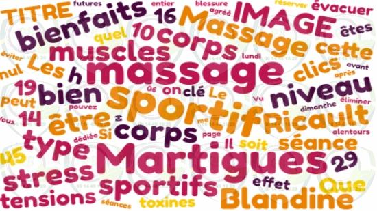 Massage sportif à domicile sur Martigues;