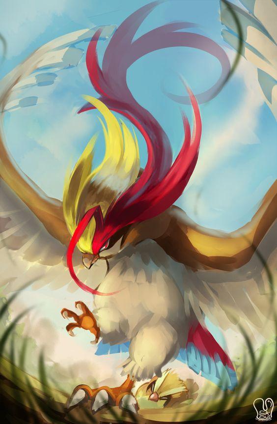 Pidgeot Art - Pokemon Go
