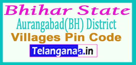 Aurangabad(BH) District Pin Codes in Bhihar State