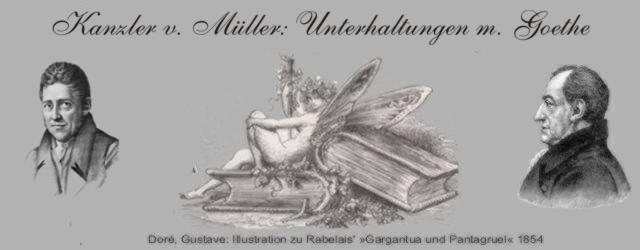 Goethe und Kanzler von Müller