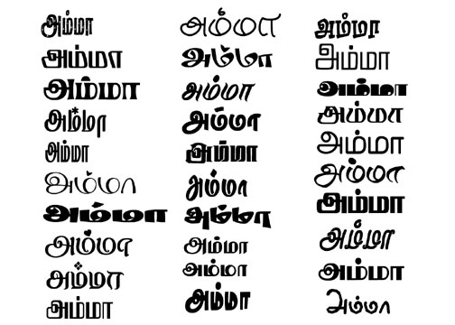 You done all thing now go to ms word select tamil font from drop. Free Tamil Stylish Fonts Collection George Digitals