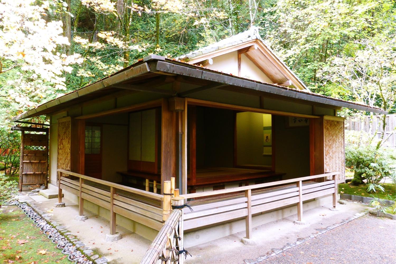 Portland Japanese Garden Kashin-Tie, Portland Japanese Garden Flower Heart House, Portland Japanese Garden Tea Garden