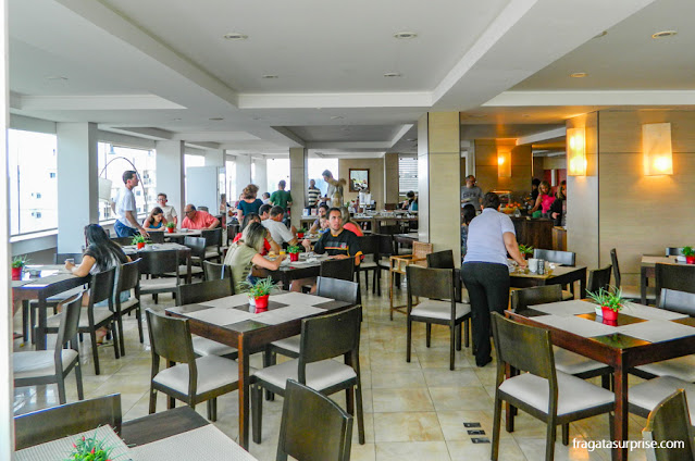 Café da manhã do Hotel Porto Sol Ingleses, Praia dos Ingleses, Florianópolis
