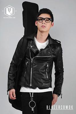 Jacket TFOA Leather Biker, Jaket Pria, Jaket Keren, Jaket Kulit