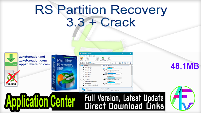 RS Partition Recovery 3.3 + Crack