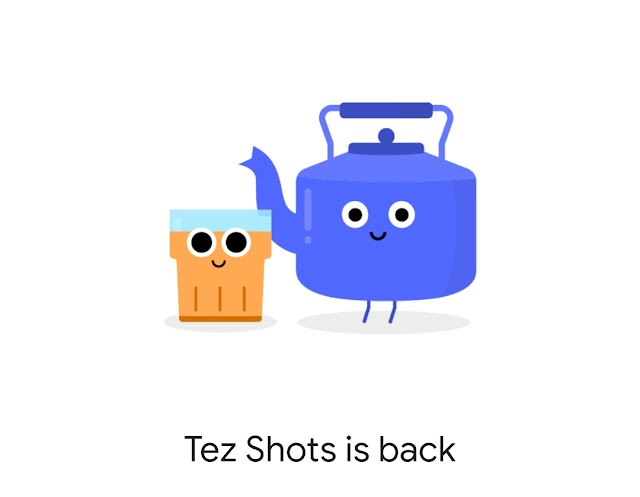 Google Pay Tez Shots :  Play and Win Brands' Vouchers