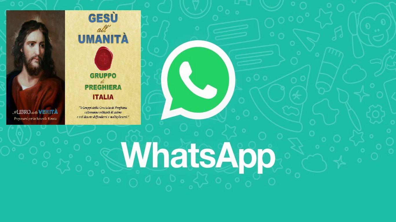 ♥´´¯`•  ➽ Novità, adesso gli aggiornamenti di questo gruppo si possono ricevere su WhatsApp