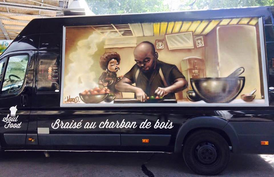 New Soul Food food truck. Image from New Soul Food Web site. Sojourner Ahébée, the Wells International Foundation's 2016 summer intern, visited Gumbo Yaya ...