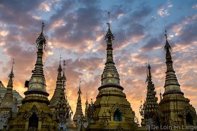 Pagode Shwedagon - Yangon - Birmanie - Myanmar