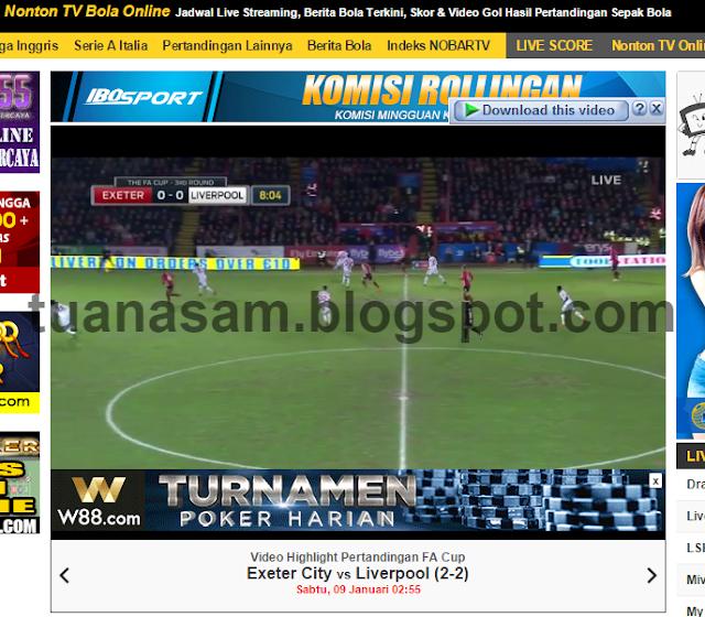 Tuan Asam: Tonton Liga Inggeris secara LIVE STREAMING