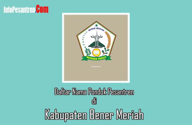 Pesantren di Kabupaten Bener Meriah