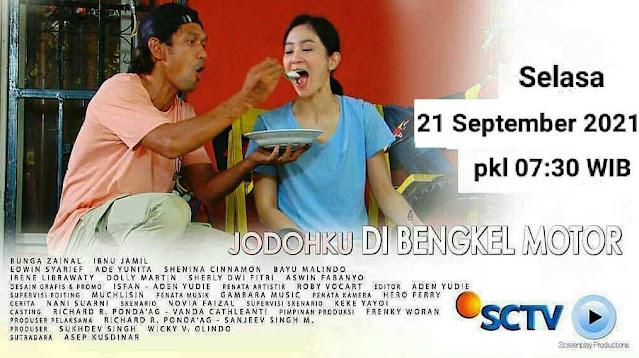 Daftar Nama Pemain FTV Jodohku Di Bengkel Motor SCTV Lengkap