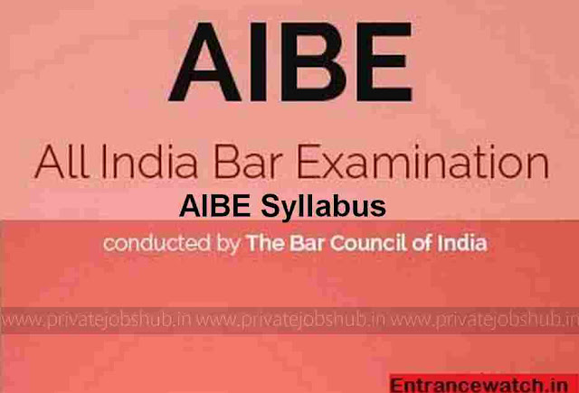 AIBE Syllabus
