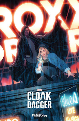 New York Comic Con 2017 Exclusive Marvel's Cloak and Dagger Television Series Teaser One Sheet Poster by Freeform
