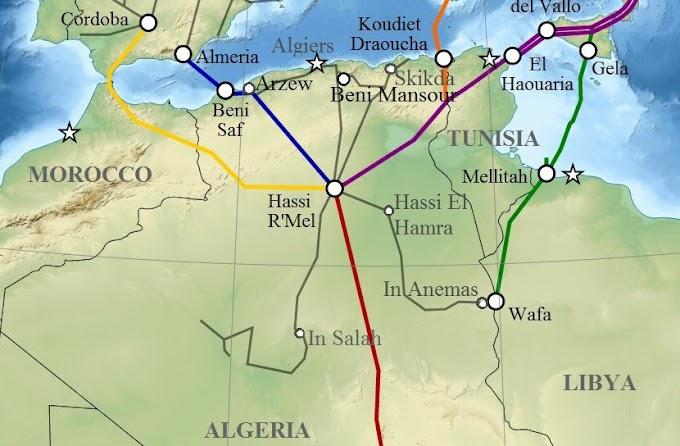 Argelia no proporcionará más gas a Marruecos a partir del 1 de Enero de 2022.