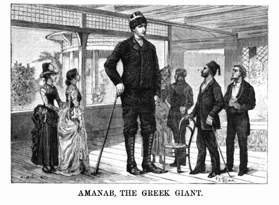 Ο Έλληνας γίγαντας του 19ου αιώνα