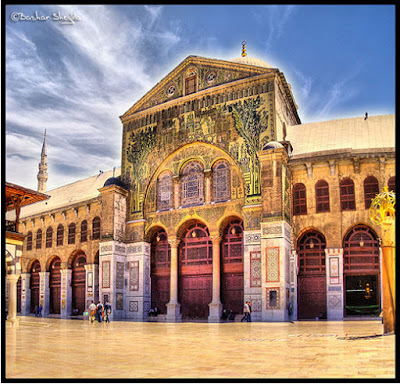 Farooq 3d Name Wallpapers The Umayyad Mosque Damascus Mosques Of The World