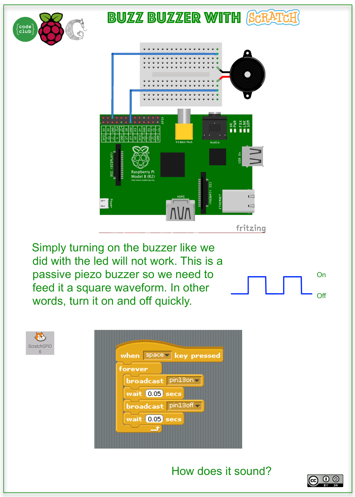 Easily Distracted Raspberry Pi Codeclub Week 7