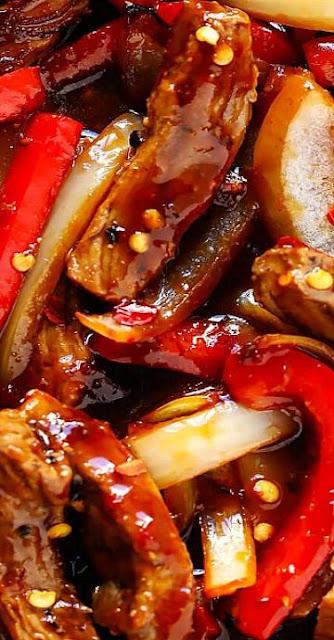 Sizzlin Spicy Szechuan Stir-Fry