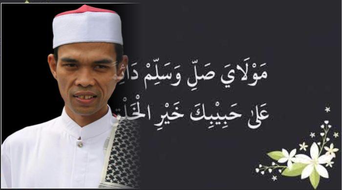 Lirik Maula Ya Sholli Wasallim Daiman Abada Ustadz Abdul Somad