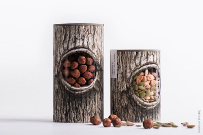 Creative Nuts and Dried Fruits Packaging Designs.