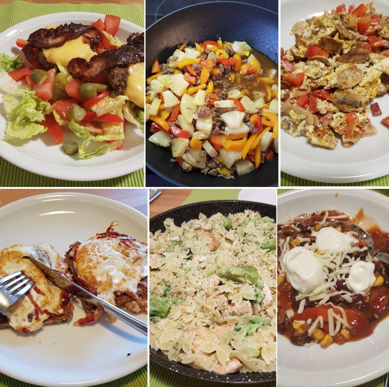 Welche Farbe hat Dein Essen?