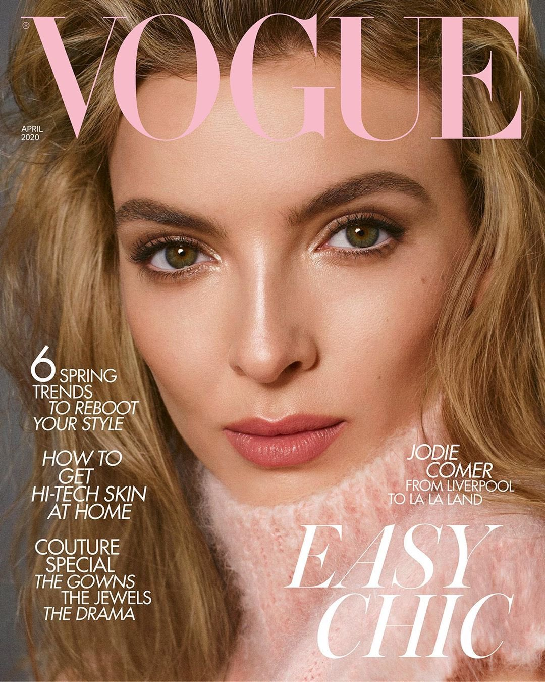 Killing Eve's Jodie Comer revealed as Vogue's April 2020 cover star