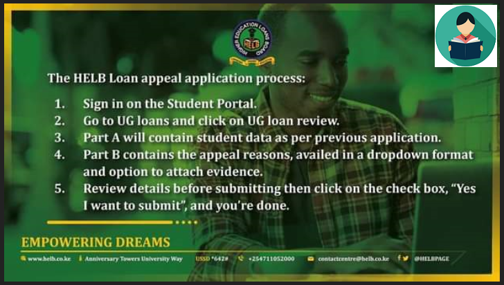 Step For HELB Loan Appeal Application